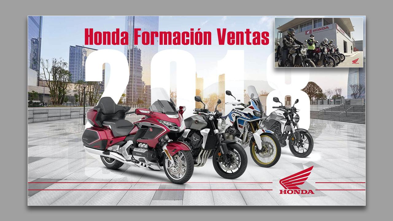 Vídeo Formación ventas Honda
