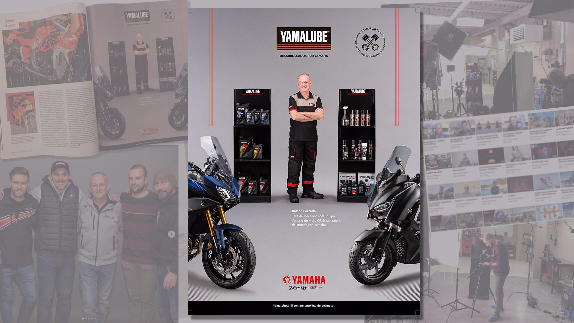 Proyecto Yamaha/Yamalube Vídeo