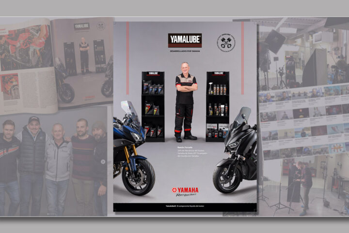 Producción Video Yamaha/Yamalube Ramón Forcada