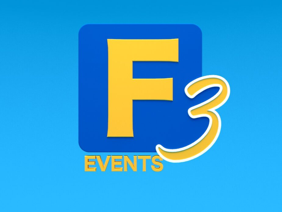 Factor 3 Events New Logo